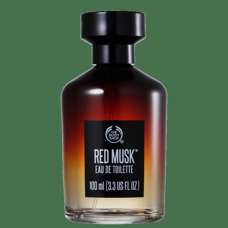 Red Musk The Body Shop Eau de Toilette - Perfume Unissex 100ml