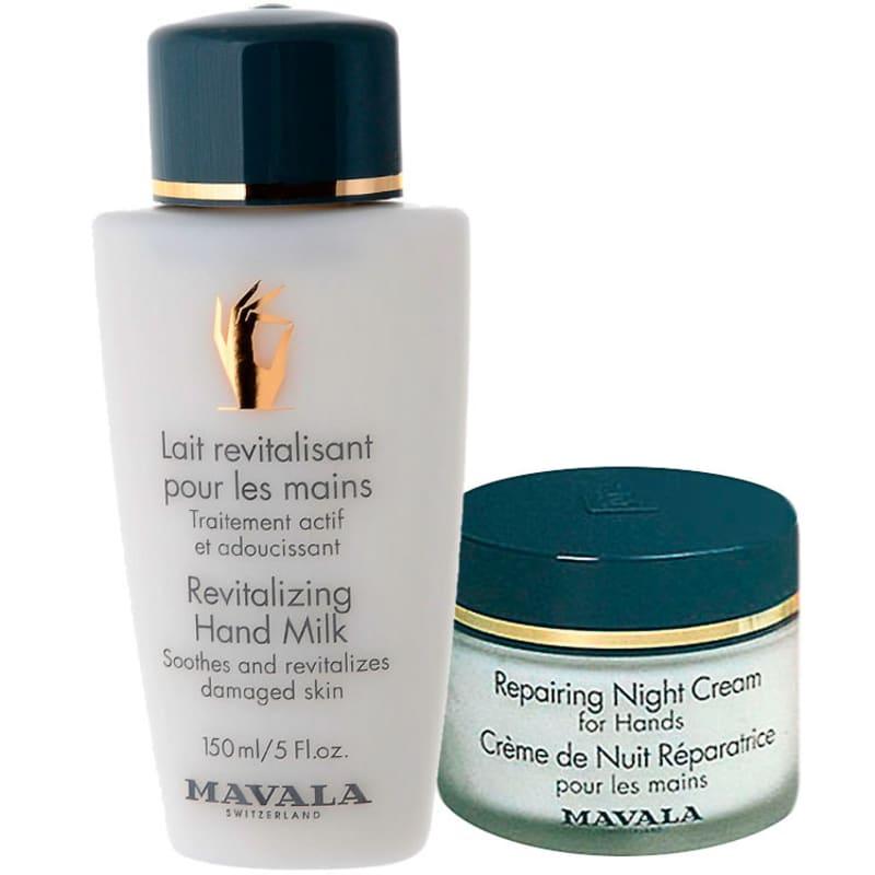 Kit Mavala Revitalizing Milk and Repairing Night (2 produtos)