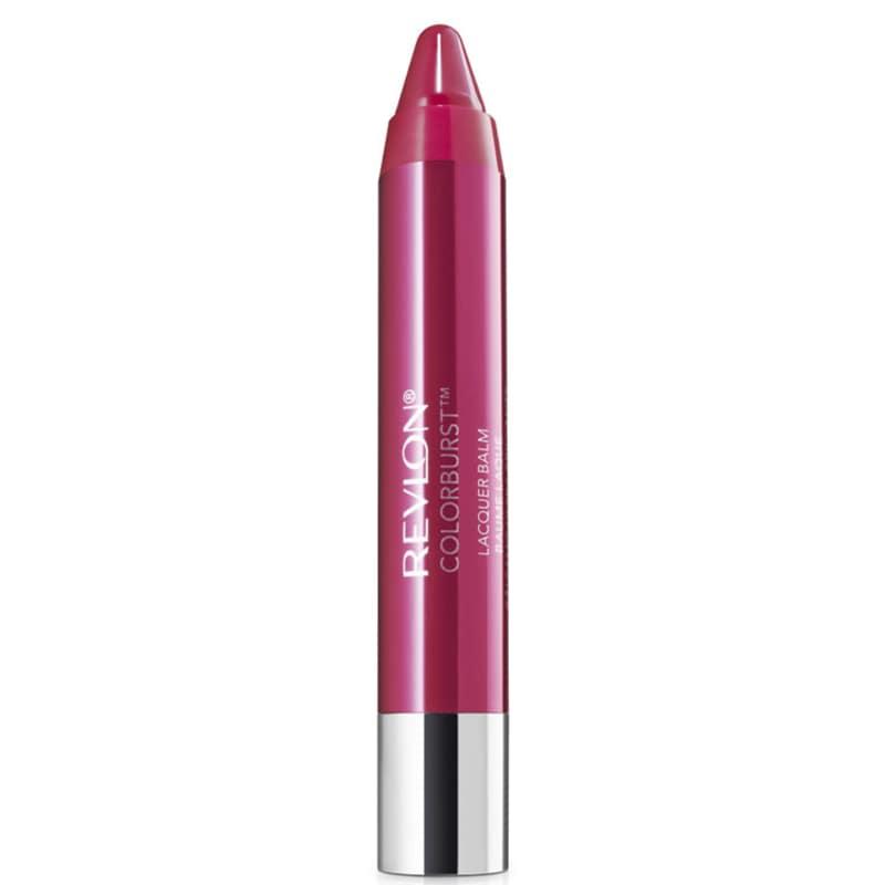 Revlon ColorBurst Lacquer Balm Vivacious - Batom Espelhado 2,7g