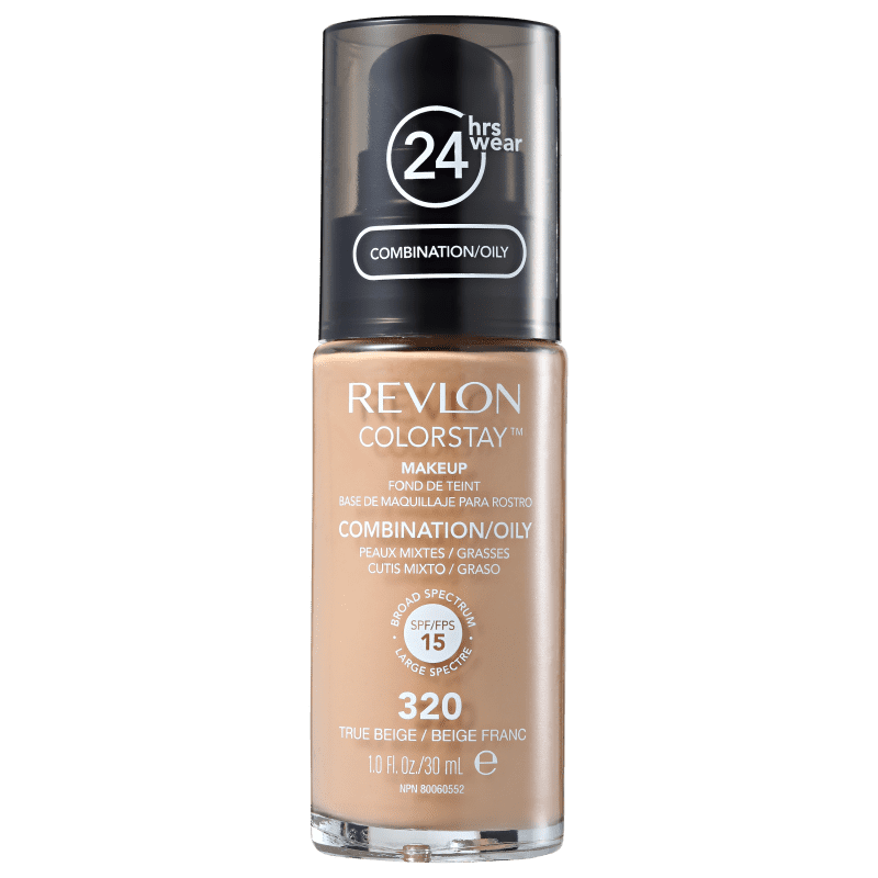 Revlon ColorStay 24 Horas Pele Mista à Oleosa FPS15 320 True Beige - Base Líquida 30ml