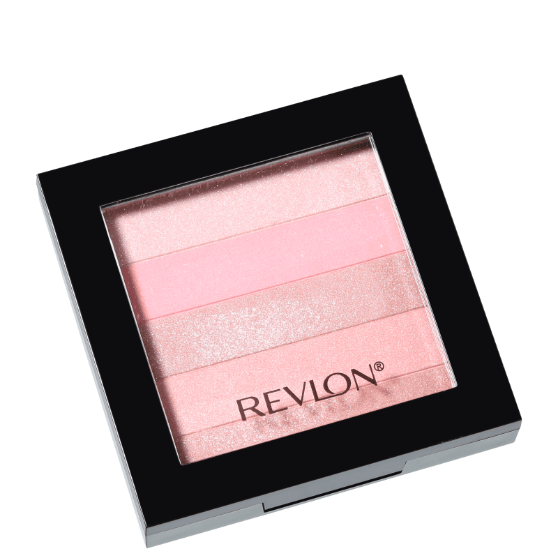 Revlon Highlighting Palette Rose Glow - Blush Luminoso 7,5g