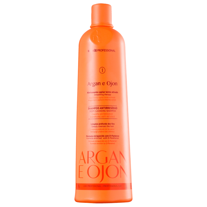 Richée Professional Argan e Ojon - Shampoo Antirresíduo 1000ml