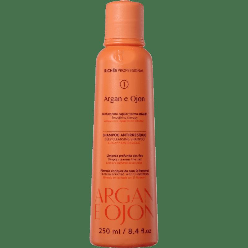 Richée Professional Argan e Ojon - Shampoo Antirresíduo 250ml