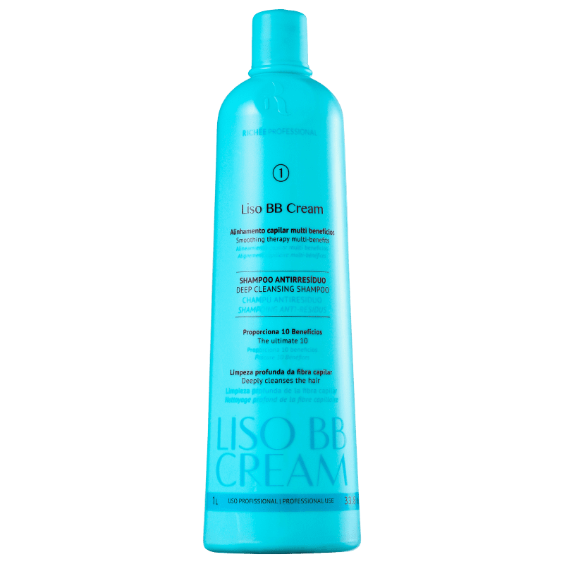 Richée Professional BB Cream - Shampoo Antirresíduos 1000ml
