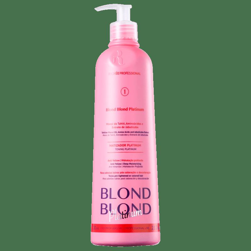 Richée Professional Blond Blond Platinum - Máscara Matizadora 700ml