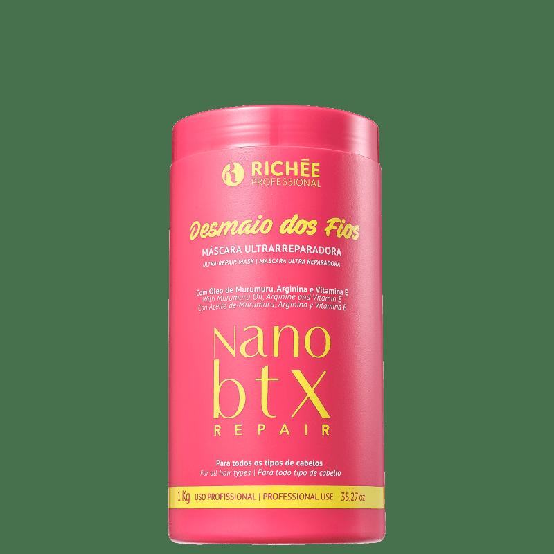 Richée Professional Nano Btx Repair Desmaio dos Fios - Máscara Capilar 1000g