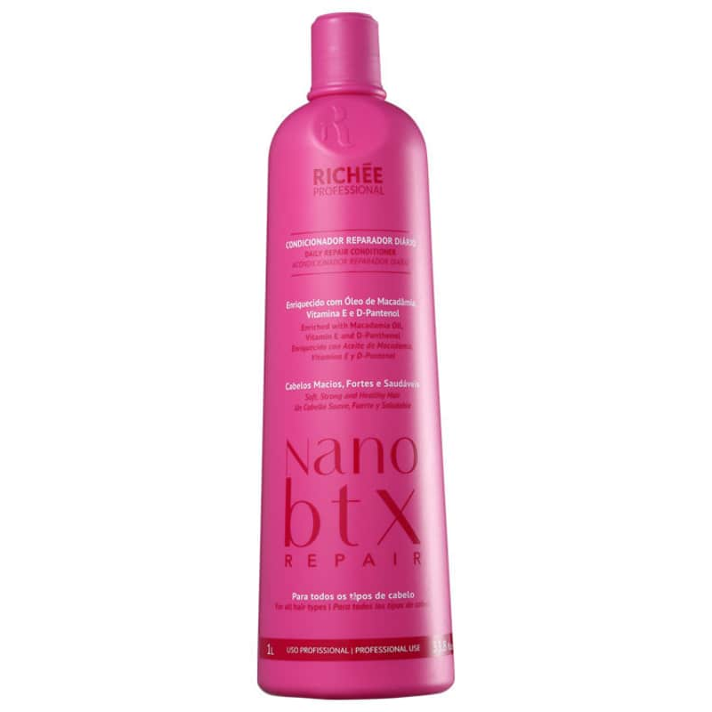 Richée Professional Nano Btx Repair	 - Condicionador 1000ml