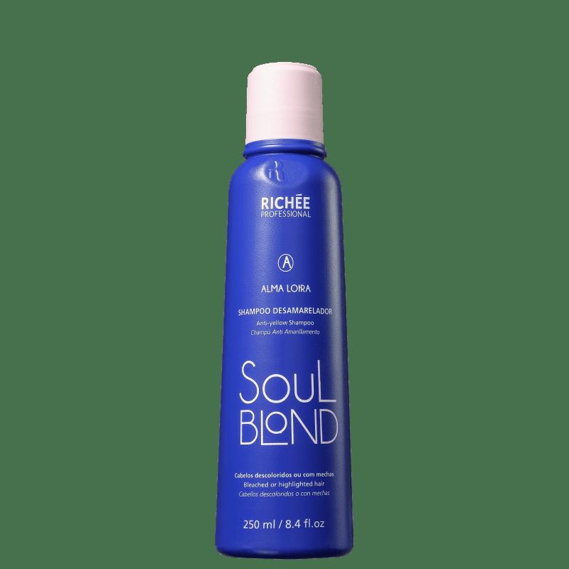 Richée Professional Soul Blond - Shampoo Desamarelador 250ml