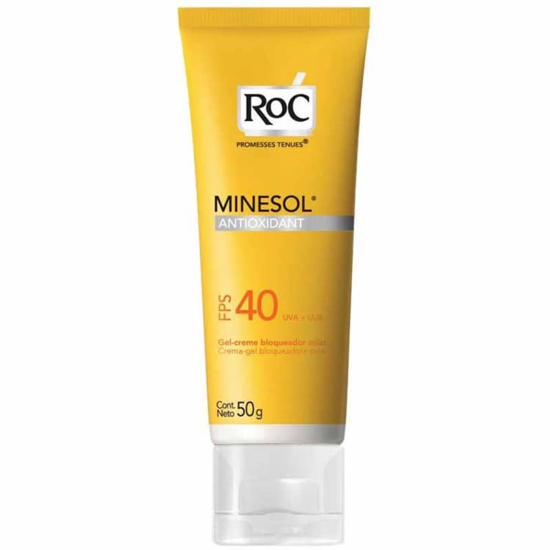 RoC Minesol Antioxidant Fps 40 - Protetor Solar 50g