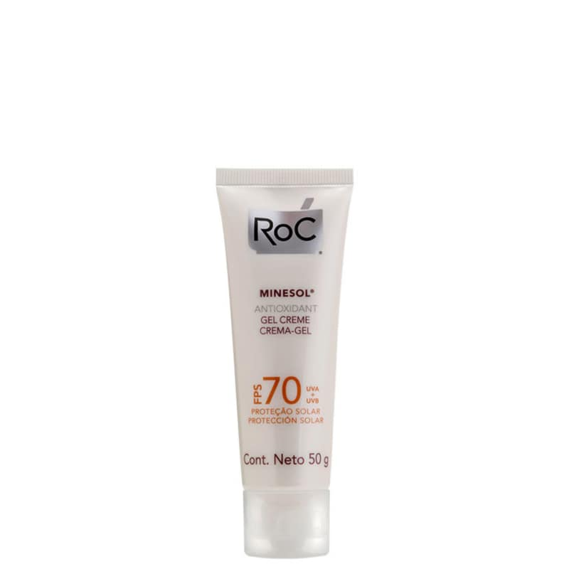 RoC Minesol Antioxidante FPS 70 - Protetor Solar 50g