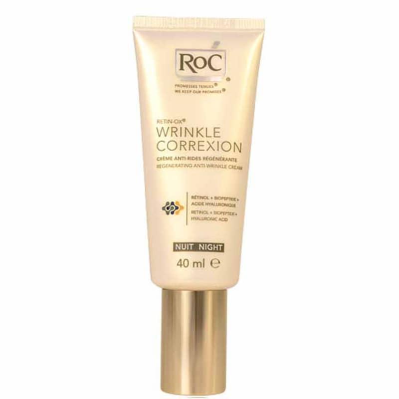 RoC Wrinkle Correxion Regenerating Night Cream - Creme Noturno Antirugas 40ml