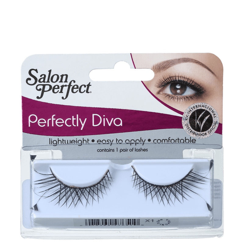 Salon Perfect Perfectly Diva 47651 - Cílios Postiços