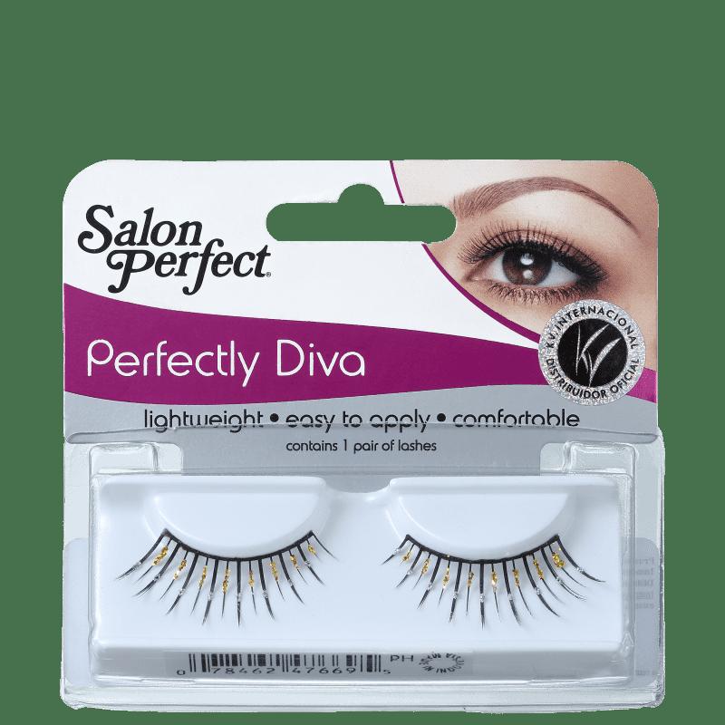 Salon Perfect Perfectly Diva 47669 - Cílios Postiços