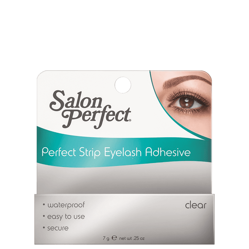 Salon Perfect Strip Lash Adhesive Clear - Cola para Cílios 7g