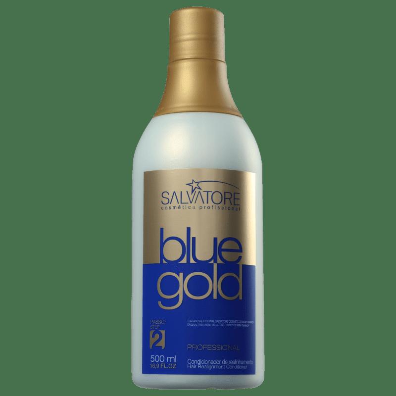 Salvatore Blue Gold - Condicionador Redutor de Volume 500ml bfee08b60a