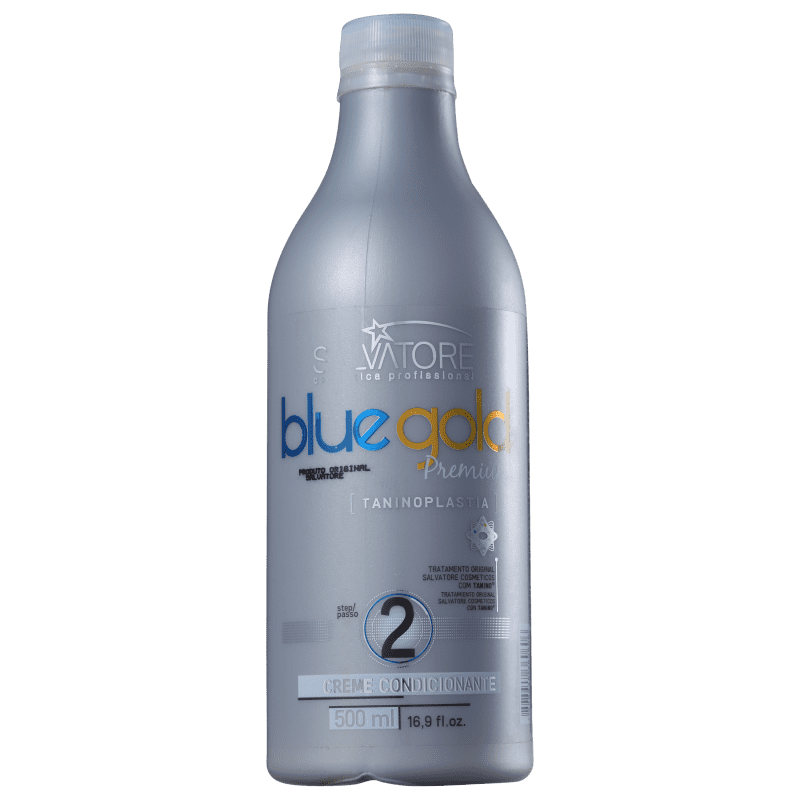 Condicionador Salvatore Blue Gold Premium 500ml   Beleza na Web 1fd80b083b