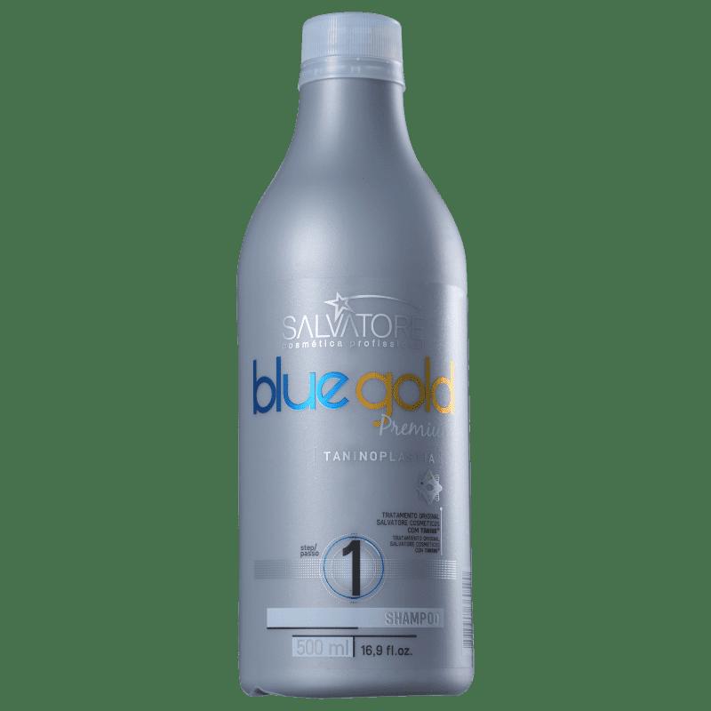 0c0a0abc4e38a Salvatore Blue Gold Premium - Shampoo Pré-Tratamemento 500ml