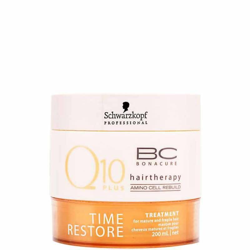 314cf6c65c Schwarzkopf Professional BC Bonacure Q10 Time Restore Treatment - Máscara  Tratamento 200ml