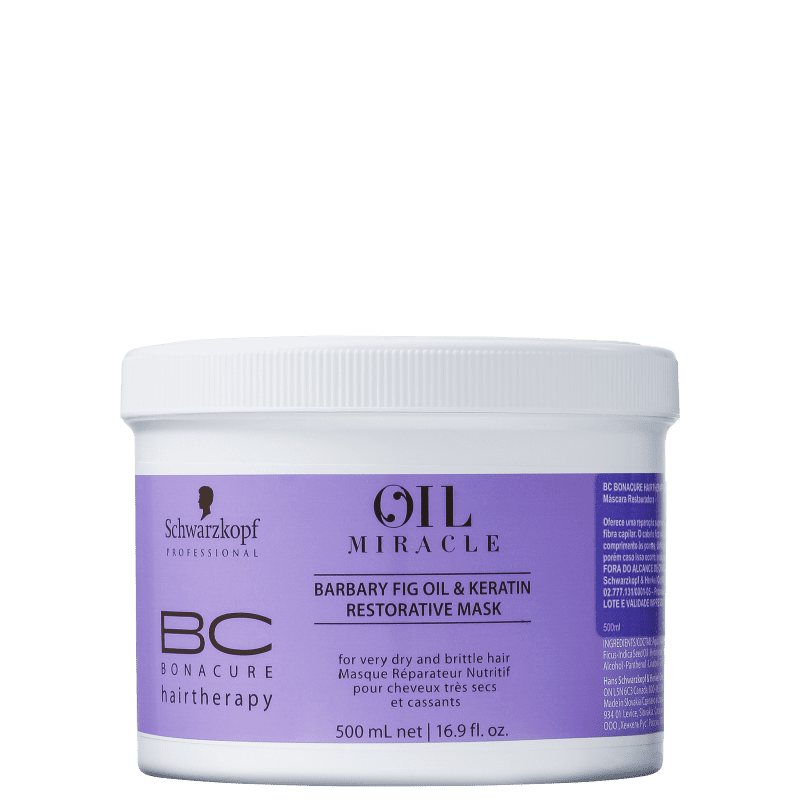 Schwarzkopf Professional BC Bonacure Oil Miracle Barbary Fig - Máscara de Nutrição 500ml