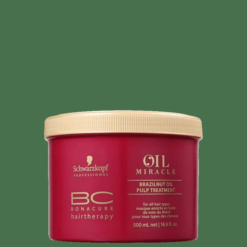 Schwarzkopf Professional BC Bonacure Oil Miracle Brazilnut - Máscara de Nutrição 500ml