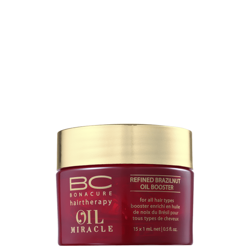 Schwarzkopf Professional BC Bonacure Oil Miracle Brazilnut Potencializador - Óleo de Tratamento 15x1ml