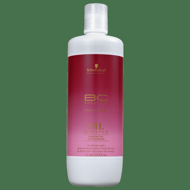 Schwarzkopf Professional BC Bonacure Oil Miracle Brazilnut - Shampoo 1000ml