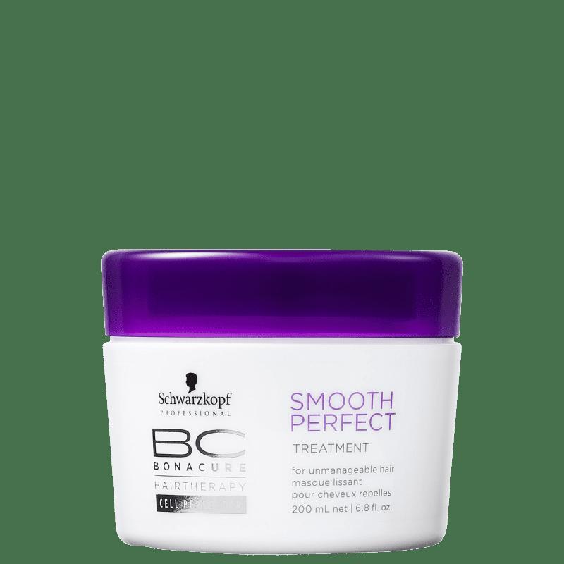 Schwarzkopf Professional BC Bonacure Smooth Perfect - Máscara Capilar 200ml