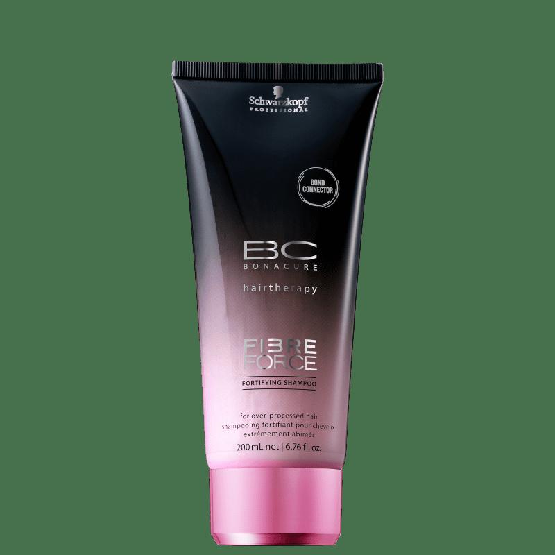 Schwarzkopf Professional BC Bonacure Fibre Force Fortifying - Shampoo sem Sulfato 200ml
