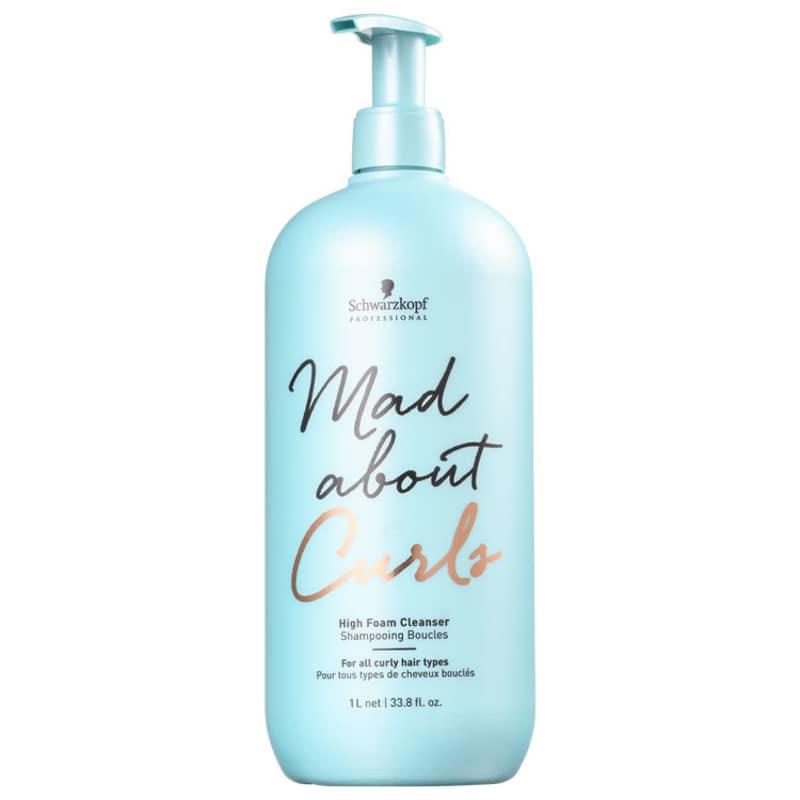 Schwarzkopf Professional Mad About Curls High Foam Cleanser - Shampoo sem Sulfato 1000ml