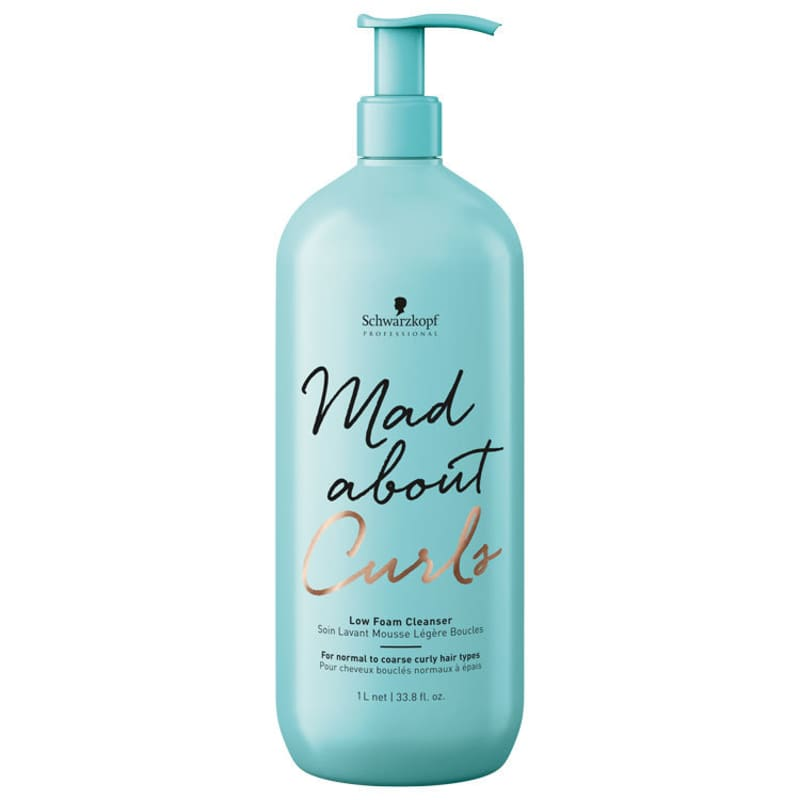 Schwarzkopf Professional Mad About Curls Low Foam Cleanser - Shampoo Co-Wash 1000ml