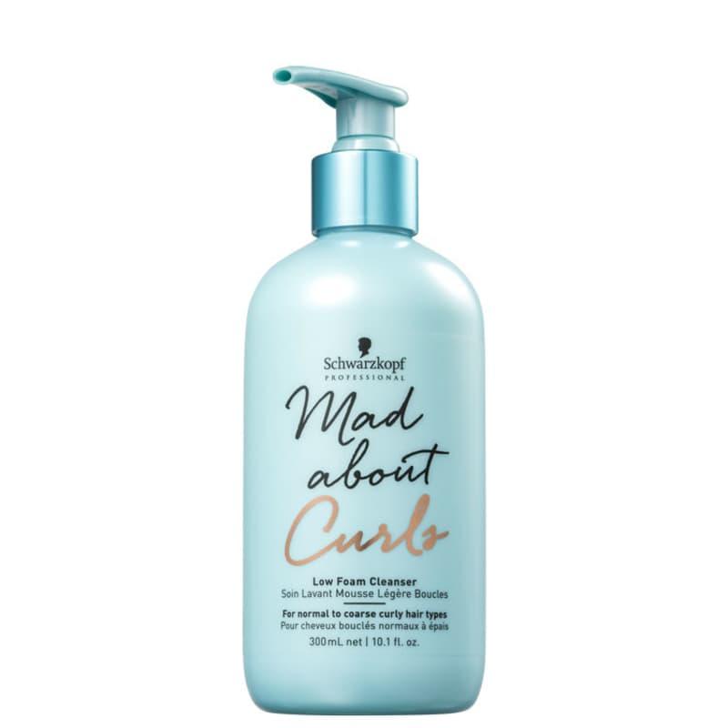 Schwarzkopf Professional Mad About Curls Low Foam Cleanser - Shampoo Co-Wash 300ml