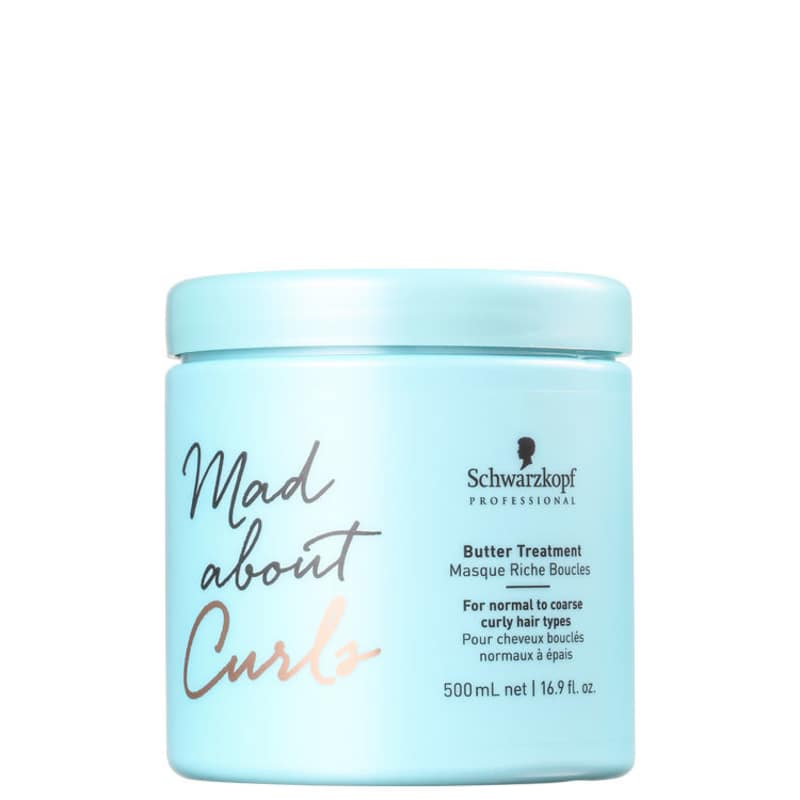 Schwarzkopf Professional Mad About Curls Butter Treatment - Máscara Capilar 500ml