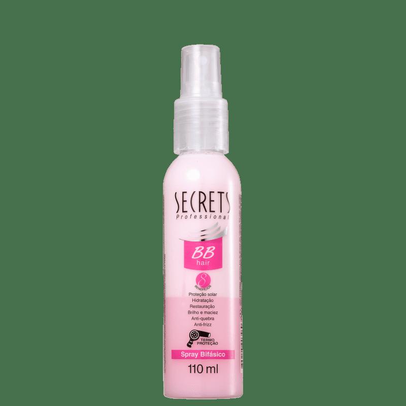 Secrets Professional BB Hair Spray Bifásico - Protetor Térmico 110ml