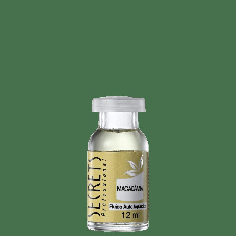Secrets Professional Fluido Auto Aquecido Macadâmia - Ampola de Nutrição 12ml