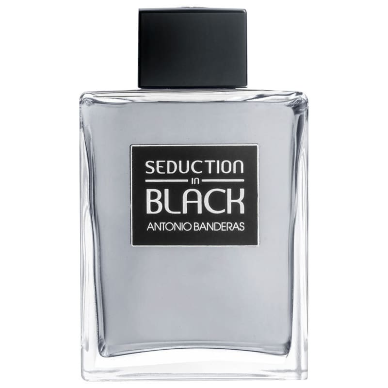 Seduction in Black Antonio Banderas Eau de Toilette - Perfume Masculino 200ml