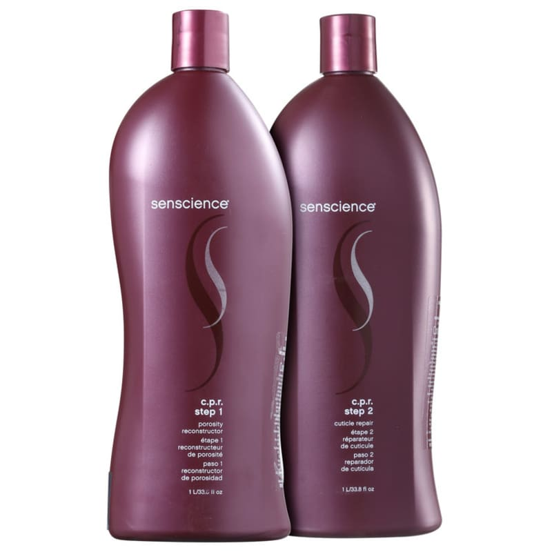 Kit Senscience C.P.R. Reconstructor Repair Salon Duo (2 Produtos)