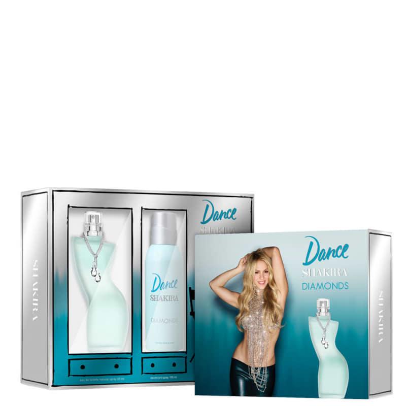 Kit Dance Diamonds Shakira Feminino Eau de Toilette 80ml + Desodorante 150ml