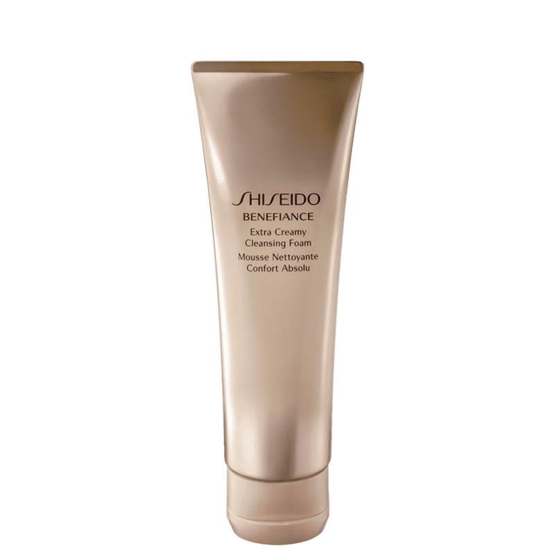 Shiseido Benefiance Extra Creamy Cleasing - Espuma de Limpeza Facial 125ml