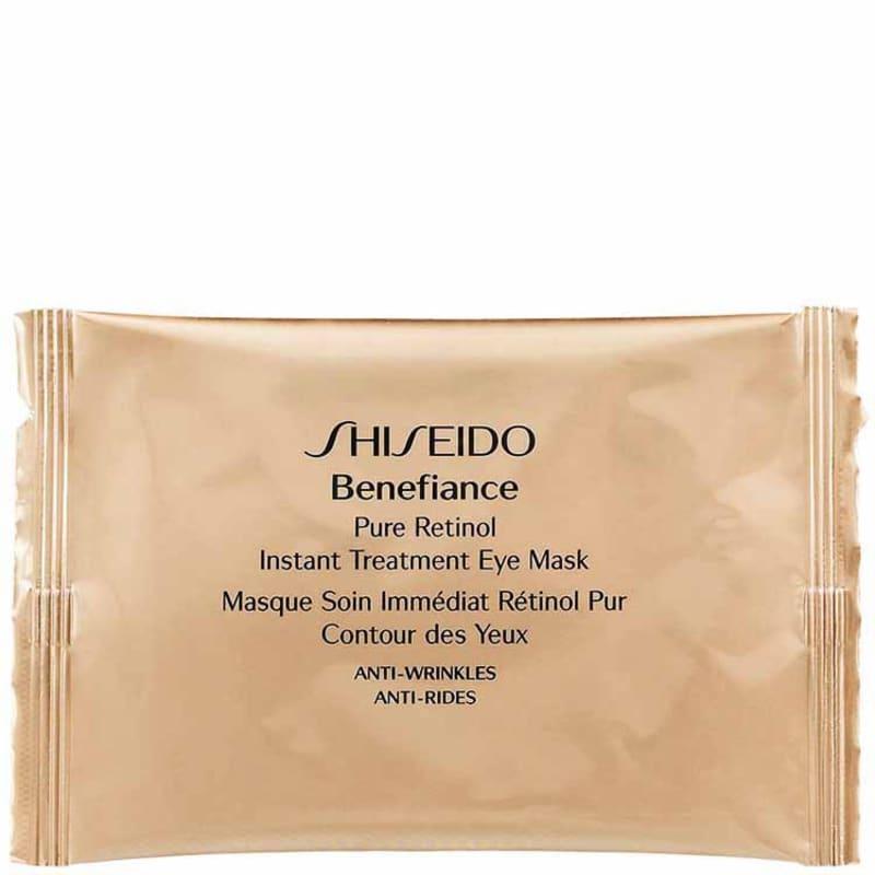 Shiseido Benefiance Pure Retinol Instant Treatment Eye Mask - Máscara para os Olhos 12 Unidades
