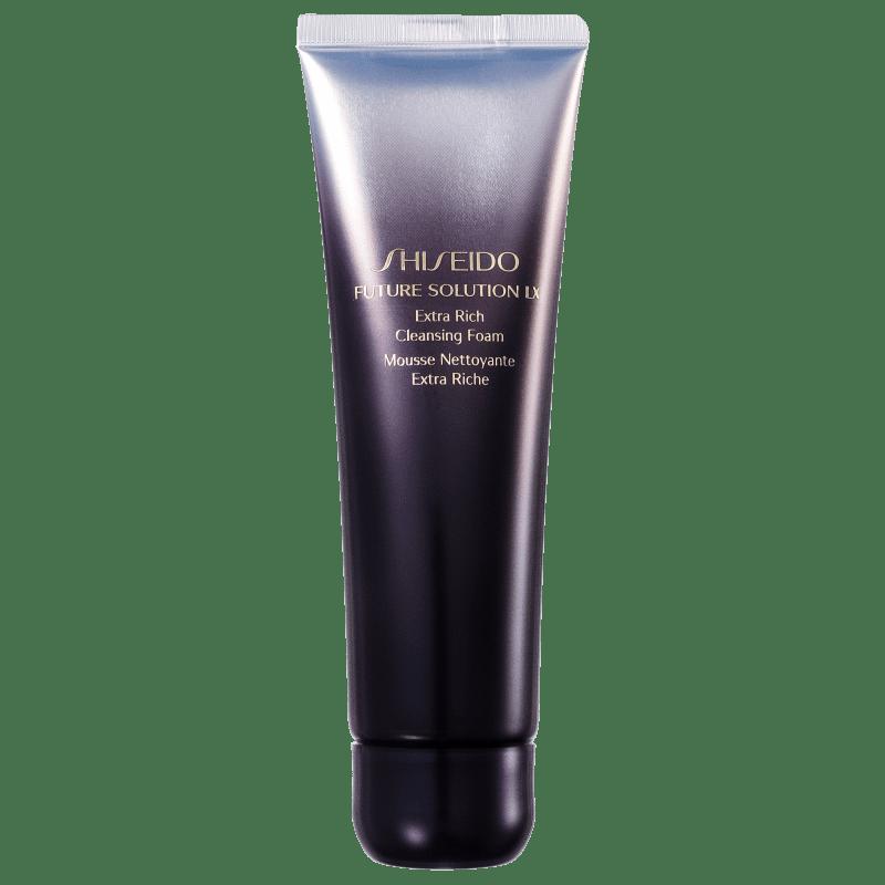 Shiseido Future Solution LX Extra Rich Cleansing - Espuma de Limpeza Facial 125ml