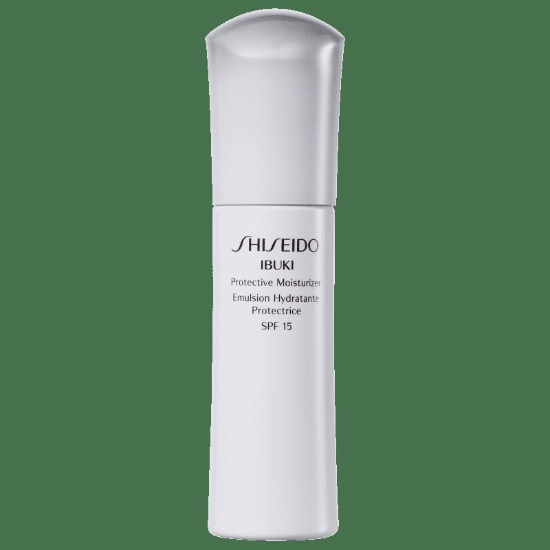 Shiseido Ibuki Protective Moisturizer FPS 15 - Emulsão Hidratante Facial 75ml