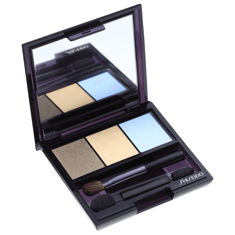 Shiseido Luminizing Satin Eye Color Trio Gd804 - Green/Yellow/Blue