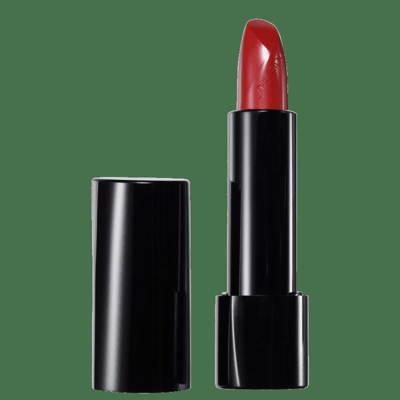 Shiseido Rouge Rouge RD502 Real Ruby Vermelho - Batom Cremoso 4g