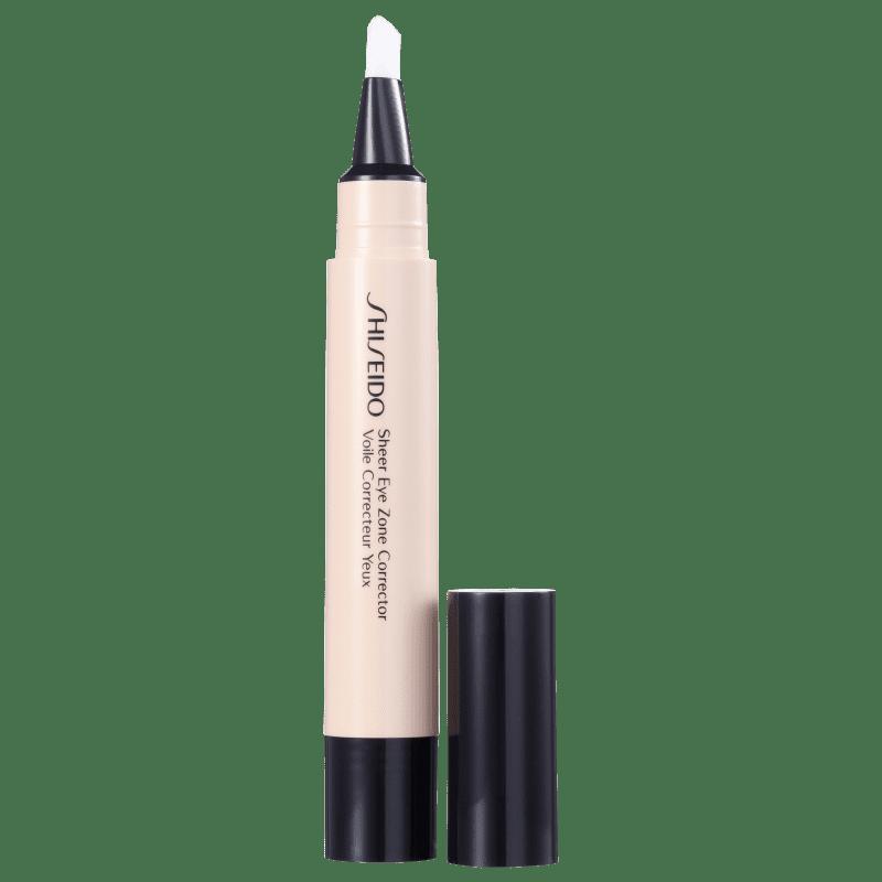 Shiseido Sheer Eyes Zone Corrector 101 Very Light - Corretivo Líquido 3,8ml