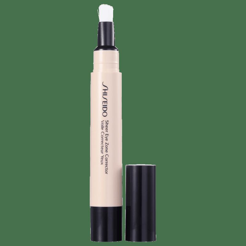 Shiseido Sheer Eyes Zone Corrector 102 Light - Corretivo Líquido 3,8ml