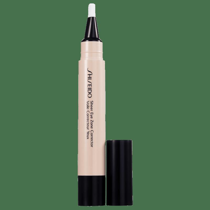 Shiseido Sheer Eyes Zone Corrector 106 Warm Beige - Corretivo Líquido 3,8ml