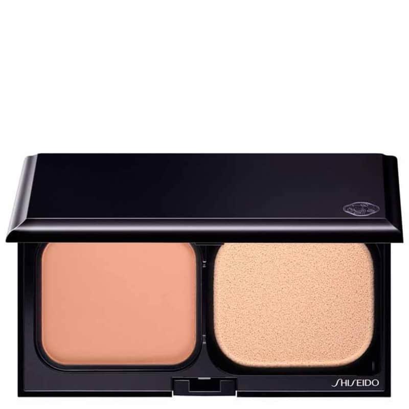 Shiseido Sheer Matifying Compact FPS 10 I40 Medium Ivory - Base Compacta Refil 9,8g
