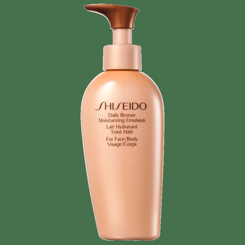 Shiseido Sun Care Daily Bronze Moisturizing Emulsion - Autobronzeador 150ml