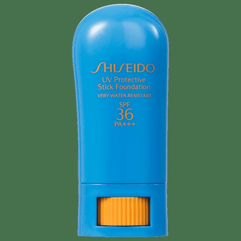 Shiseido Sun Care Sun Protection Stick Foundation FPS 36 Beige - Base em Bastão 9g