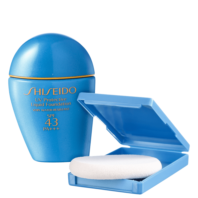 Shiseido Sun Care UV Protective Liquid Foundation FPS 43 Light Beige - Base Líquida 30ml